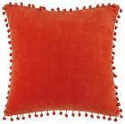 Okrasna Blazina Pompon - terakota, tekstil (45/45cm) - Mömax modern living