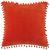 ZIERKISSEN Pompon Terra Cotta 45x45cm - Terra cotta, Textil (45/45cm) - Mömax modern living