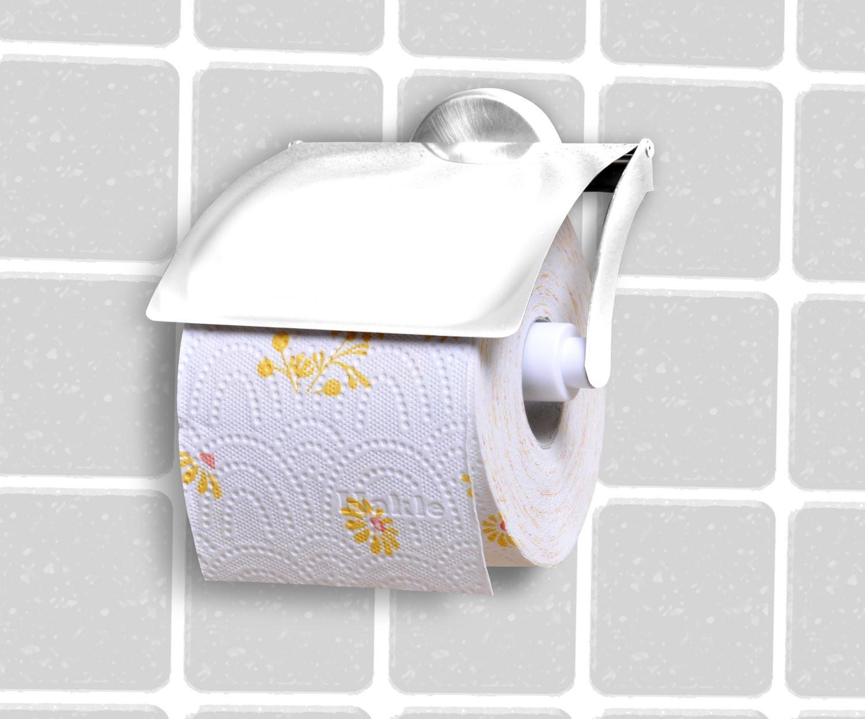 Toilettenpapierhalter Vision in Chrom - Chromfarben, Metall (13,5/13/10cm) - MÖMAX modern living