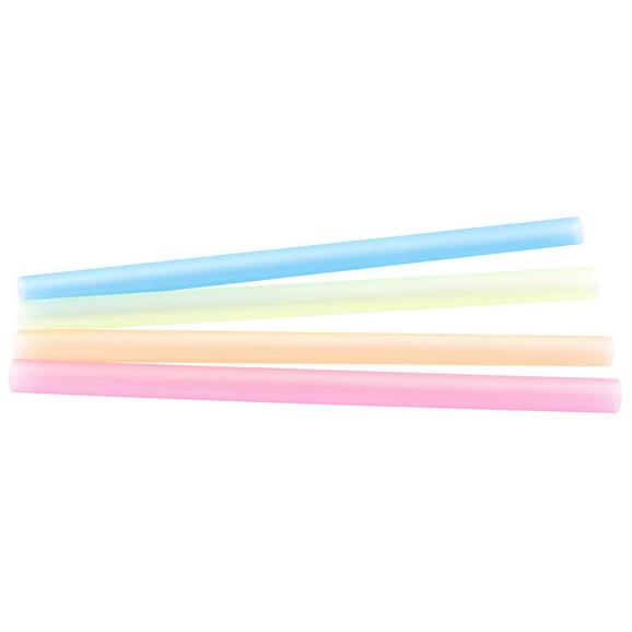 Trinkhalm Smoothie - Blau/Gelb, Kunststoff (1/20cm) - Mömax modern living