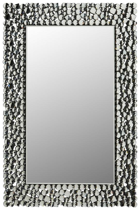 Wandspiegel Silberfarben 60x90cm - Silberfarben, MODERN, Glas/Holzwerkstoff (60/90/2cm) - Modern Living