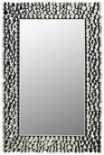 Wandspiegel Silberfarben, ca. 60x90cm - Silberfarben, MODERN, Glas/Holzwerkstoff (60/90/2cm) - Modern Living