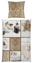Bettwäsche Patchwoek, ca. 135x200cm - Hellbraun/Beige, ROMANTIK / LANDHAUS, Textil (135/200cm) - Mömax modern living