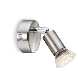 LED-Strahler Fritz, max. 1x3 Watt - KONVENTIONELL, Metall (14/7cm) - Mömax modern living