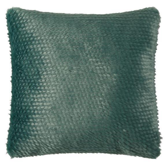 Zierkissen Hailey in verschiedenen Farben - Blau/Gelb, Textil (43/43cm) - Mömax modern living