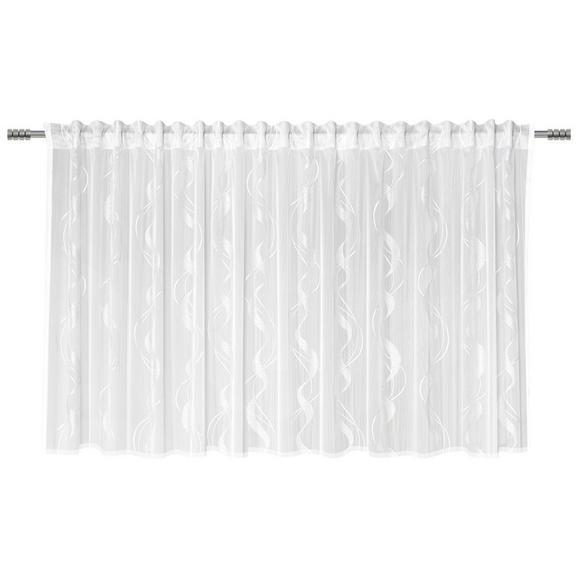 Fertigvorhang Wave Store Weiß 300x145cm - Weiß, Textil (300/145cm) - Mömax modern living