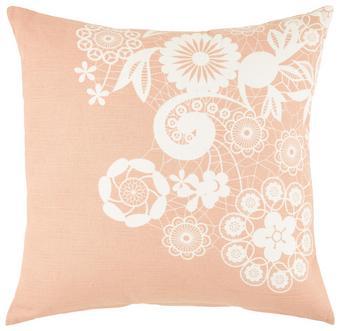 Díszpárna Lovely - Natúr/Rózsaszín, romantikus/Landhaus, Textil (45/45cm) - Mömax modern living