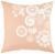 Zierkissen Lovely Rosa/Weiß 45x45cm - Naturfarben/Rosa, ROMANTIK / LANDHAUS, Textil (45/45cm) - Mömax modern living