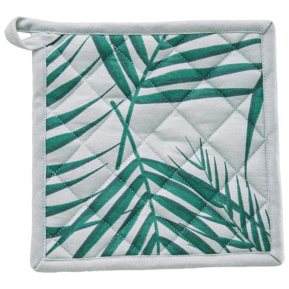 Prijemalka In Rokavica Lenara - zelena, tekstil (20/20cm) - Mömax modern living