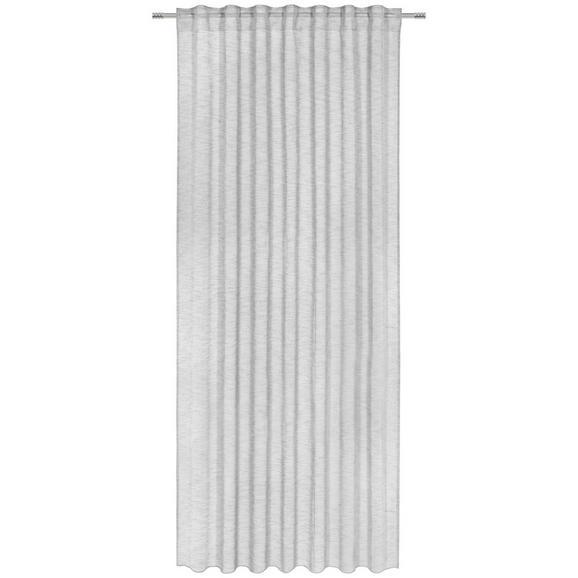 Perdea Prefabricată Sigrid - gri, Romantik / Landhaus, textil (140/245cm) - Premium Living