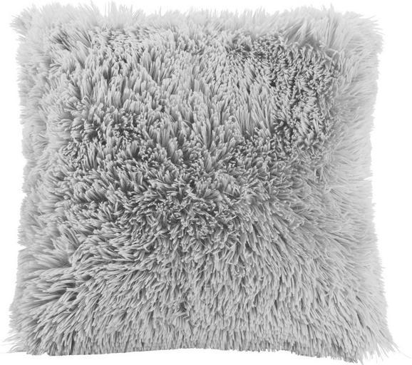 Okrasna Blazina Fluffy - svetlo siva, tekstil (45/45cm) - MÖMAX modern living