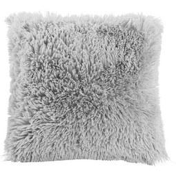 Zierkissen Fluffy ca. 45x45cm - Hellgrau, Textil (45/45cm) - Mömax modern living