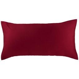 Kissenhülle Belinda ca. 40x80cm - Bordeaux/Silberfarben, Textil (40/80cm) - Premium Living