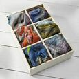 Wollpashmina Schal Multicolor 'Shalimar' ca. 70X180 CM - Multicolor, MODERN, Textil (70/180cm) - Bessagi Home