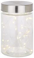 Lichterkette Sterni max. 0,06 Watt - Silberfarben, Kunststoff (195cm) - Mömax modern living