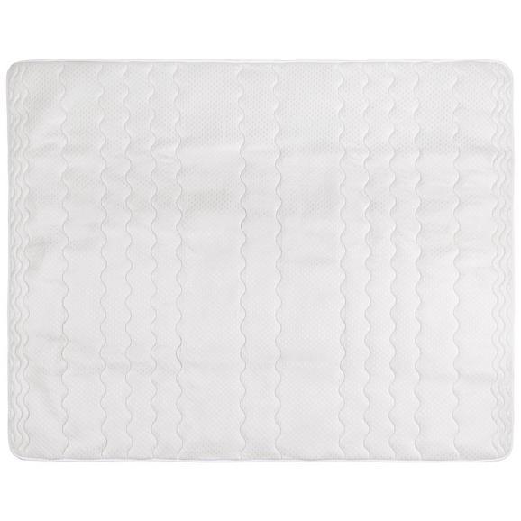 Posteljni Nadvložek Visco -ext- - bela, tekstil (90/200cm) - Nadana