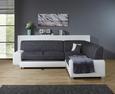 Sjedeća Garnitura Miami - bijela/siva, Basics, tekstil/drvo (260/210cm)