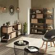 Aufbewahrungsbox Sonoma Eiche - Sonoma Eiche, MODERN, Holzwerkstoff (44/28/33cm) - Modern Living