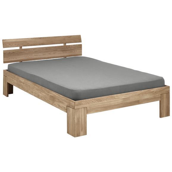 Futon Ágykeret Yves 90x200 - Tölgyfa/Fehér, konvencionális, Fa (90/200cm)