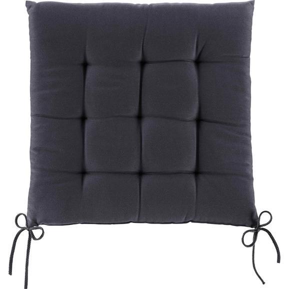 Sedežna Blazina Anita -ext- - temno siva, tekstil (40/40/4cm) - Mömax modern living