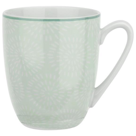 Cană Pentru Cafea Nina - verde mentă, ceramică (8,5/10cm) - Modern Living