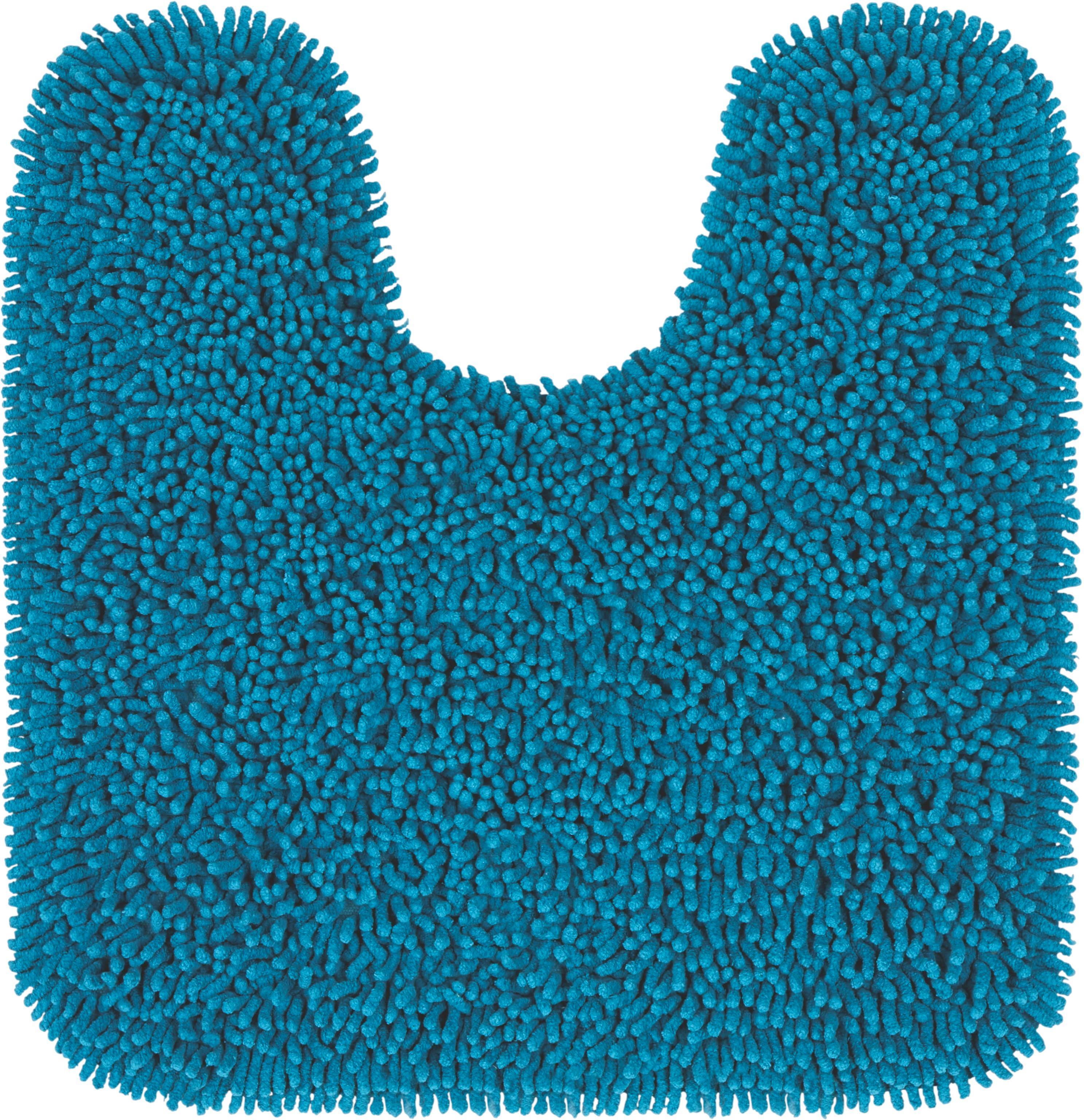 WC Vorleger Jenny Ca. 55x55cm   Türkis, Textil (55/55cm)