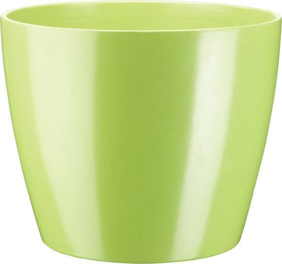 Übertopf Luisa in verschiedenen Farben - Braun/Weiß, MODERN, Keramik (31/25cm) - Mömax modern living