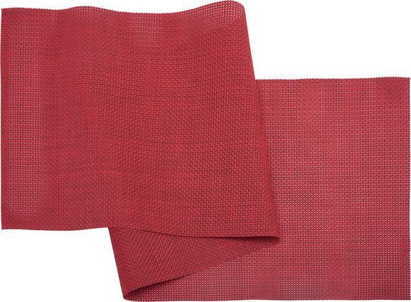 Tischläufer Stefan in Rot - Rot, Kunststoff (45/150cm) - Mömax modern living