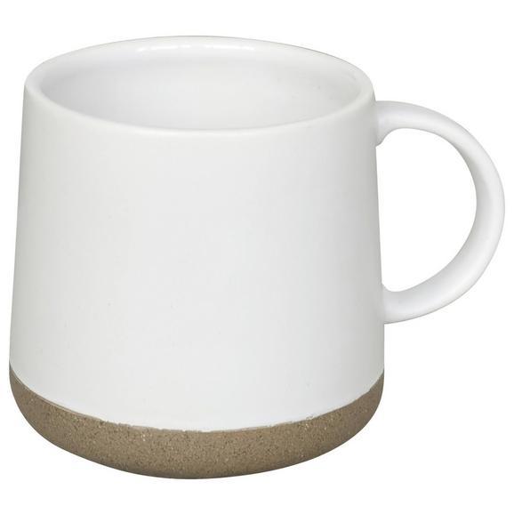 Cană Pentru Cafea Emilia - alb, Romantik / Landhaus, ceramică (8,7/9cm) - Zandiara