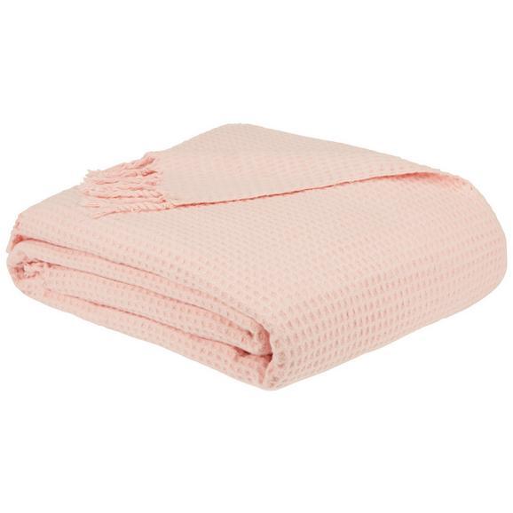 Takaró Alice - Halvány rózsaszín, romantikus/Landhaus, Textil (150/180cm) - Zandiara