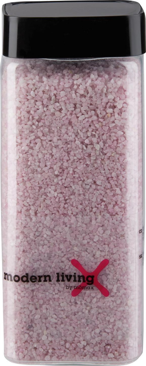 Dekogranulat perlkies in Rosa aus Stein - Rosa, KONVENTIONELL, Stein (0,550l)