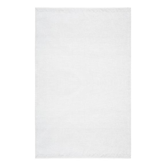 Tischdecke Charlotte in Weiß - Weiß, MODERN, Textil (140/220cm) - Premium Living