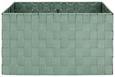 Korbset Charlotte Jadegrün 4-teilig - Jadegrün, Kunststoff/Metall - Mömax modern living