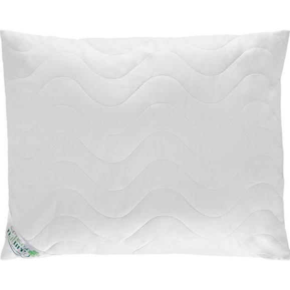 Kopfkissen Cotton Weiß ca. 70x90cm - Weiß, Textil (70/90cm) - Nadana