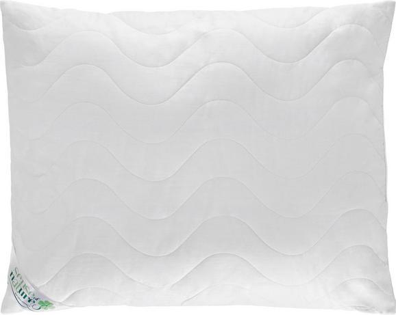 Kopfpolster Cotton in Weiß, ca. 70x90cm - Weiß, Textil (70/90cm) - Nadana