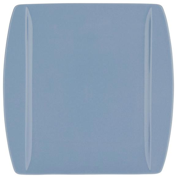 Speiseteller Pura aus Keramik Ø ca. 25,3cm - Hellblau, MODERN, Keramik (25,3/25,5cm) - Mömax modern living