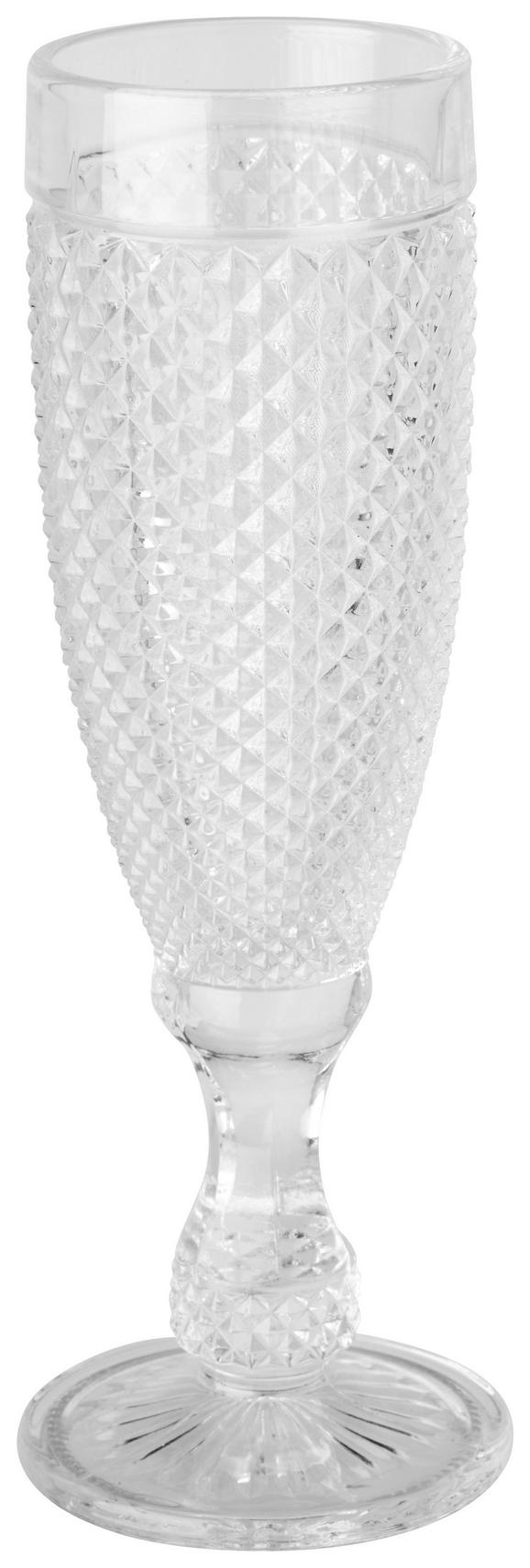 Champagnerglas Amelie 170ml - Transparent, ROMANTIK / LANDHAUS, Glas (6/20cm)