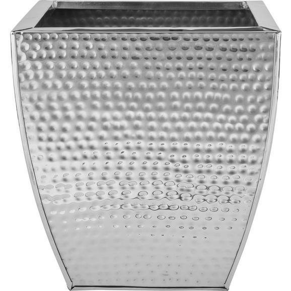 Cvetlični Lonček Surabi - nerjaveče jeklo, Trendi, kovina (26/26/28cm) - Mömax modern living