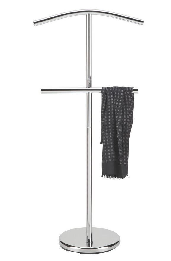 Herrendiener in Chromfarben - Chromfarben, Metall (48/105/28cm) - Mömax modern living