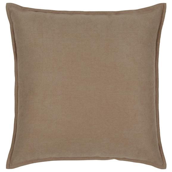Zierkissen Poppy ca. 45x45cm - Hellbraun, MODERN, Textil (45/45cm) - Mömax modern living