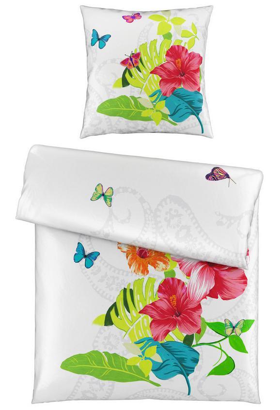 Bettwäsche Celette in Bunt, ca. 135x200cm - Multicolor/Weiß, Textil (135/200cm) - MÖMAX modern living