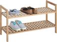 Schuhregal In Walnuss Massiv - Holz (69/40/26cm) - Mömax modern living