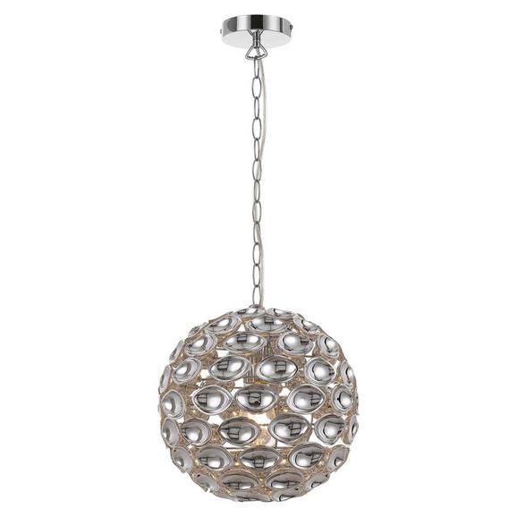 Viseča Svetilka Cathy - krom, Trendi, kovina/umetna masa (30/150cm) - Premium Living