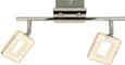 Led-reflektor Nanni - krom, Romantika, kovina/umetna masa (34/18cm) - Premium Living