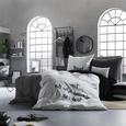 Ágyneműhuzat-garnitúra Grapit - Grafitszürke, Textil (140/200cm) - Mömax modern living