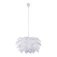 Pendelleuchte Tania - Weiß, MODERN, Kunststoff (52/141cm) - Modern Living