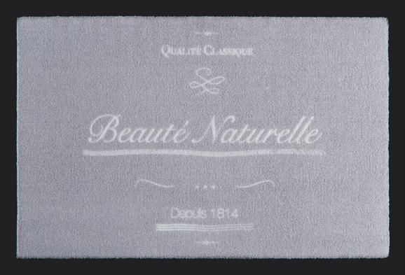 Fußmatte Naturelle in Grau, ca. 40x60cm - Grau, ROMANTIK / LANDHAUS, Textil (40/60cm) - MÖMAX modern living