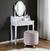 Hocker Joris mit Stauraum - Rosa/Pinienfarben, MODERN, Holz/Textil (45/50cm) - Modern Living