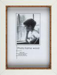 Bilderrahmen Roody Braun/Weiß 15x20cm - Braun/Weiß, Glas/Holz (15/20/3cm) - MÖMAX modern living