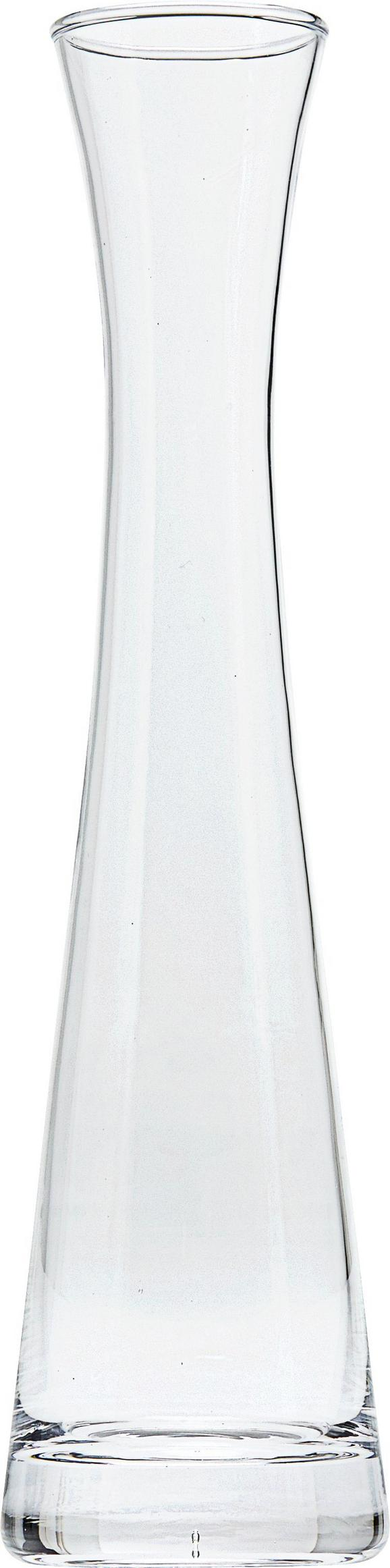 Vase Constanze aus Glas - Klar, Glas (28cm) - Mömax modern living